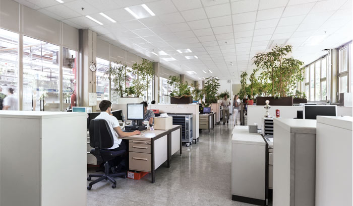 Bosch office lighting