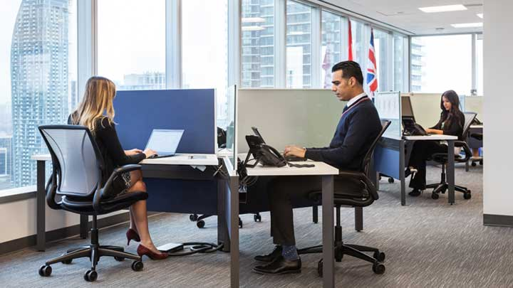 Connected office lighting solution – Cisco Toronto office –Philips Lighting-2
