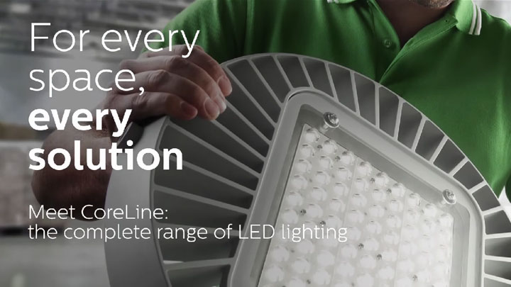 Coreline range of led lighting
