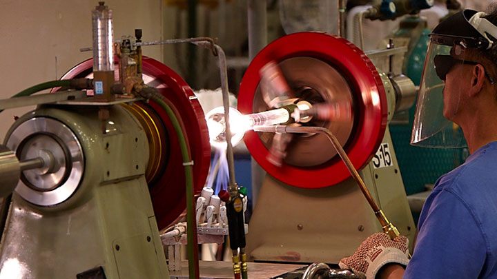 Lamp sealing process